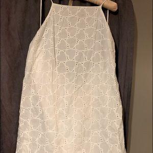 ASOS Halter Style Open Back Mini Dress